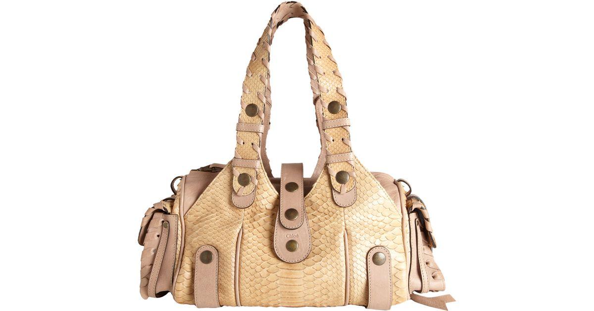 chloe black and white bag - chloe python silverado hobo, clhoe handbags