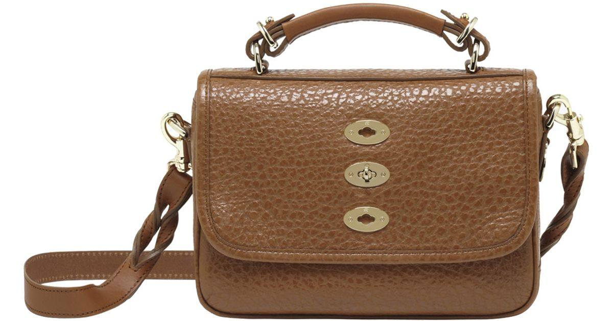 2b9eef49d8af Lyst - Mulberry Small Bryn in Brown