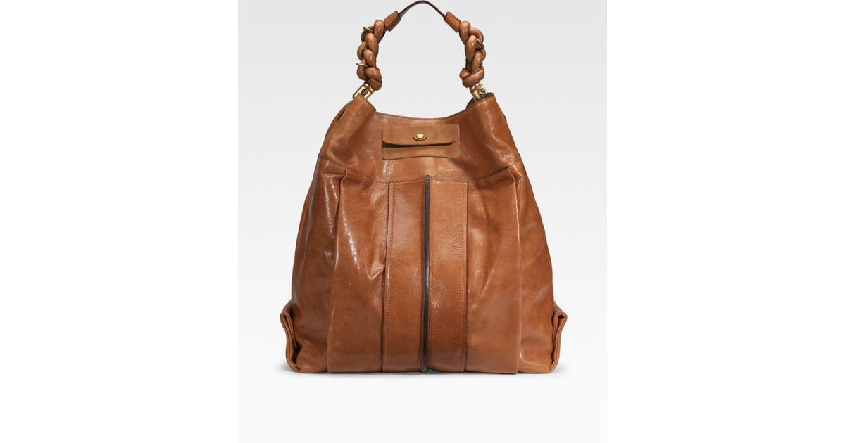 46a30054e44ff Chloé Heloise Large Hobo in Brown - Lyst