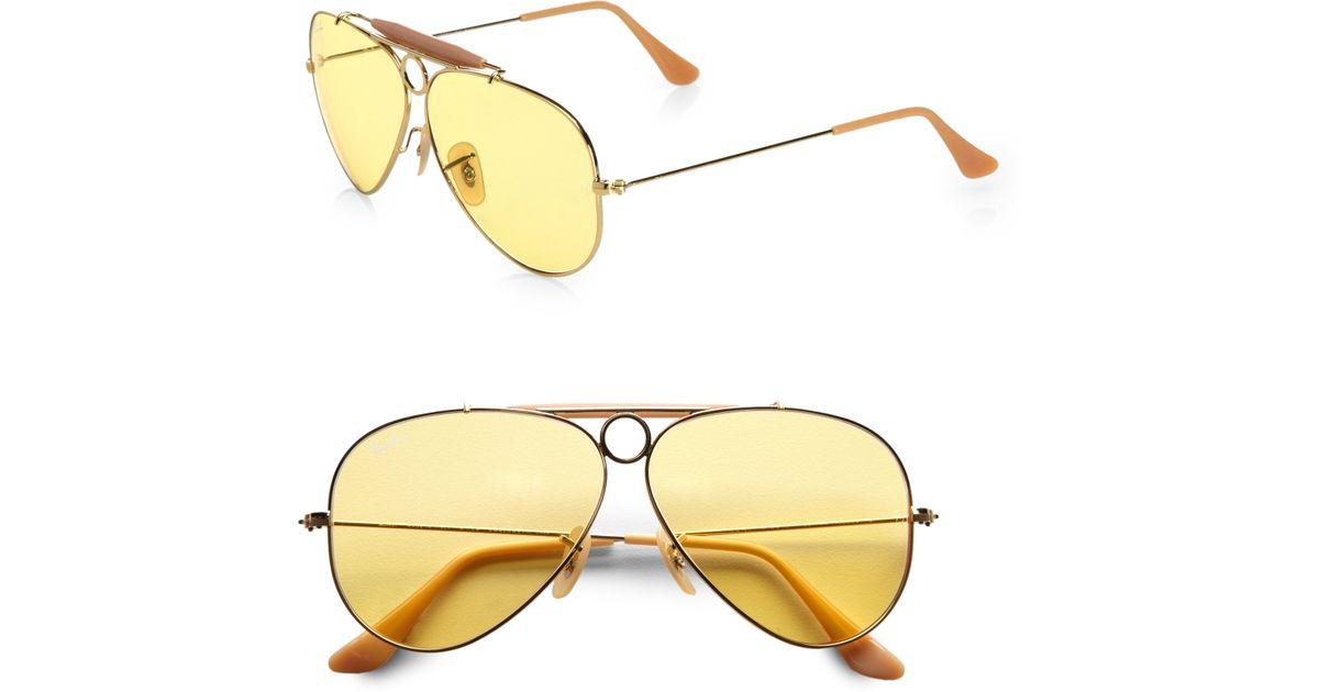 e5201fb0e5 ray ban shooting glasses yellow