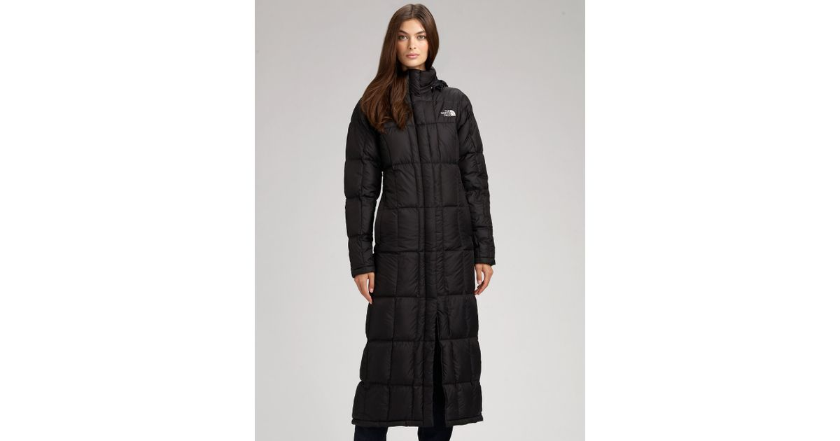 Lyst - The North Face Triple Long Puff Jacket in Black 29d0e1735