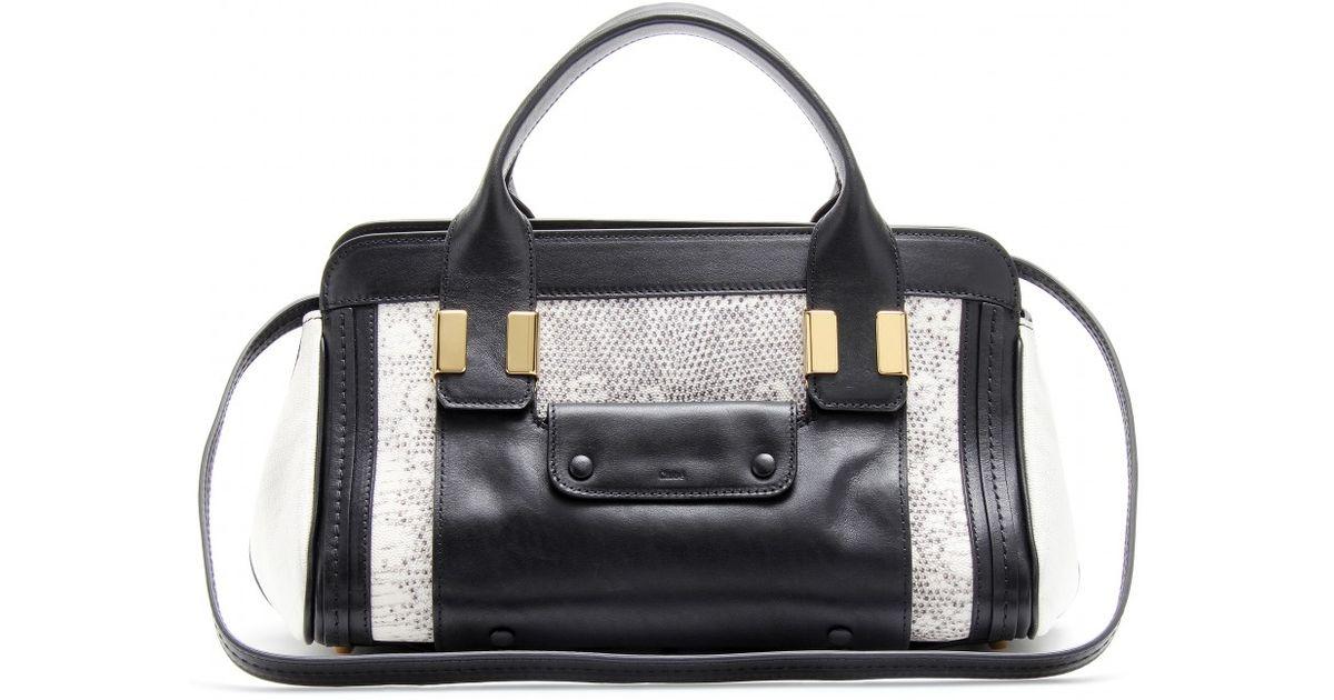 chloe marcie gray - chloe embossed leather alice tote, chloe replica handbag