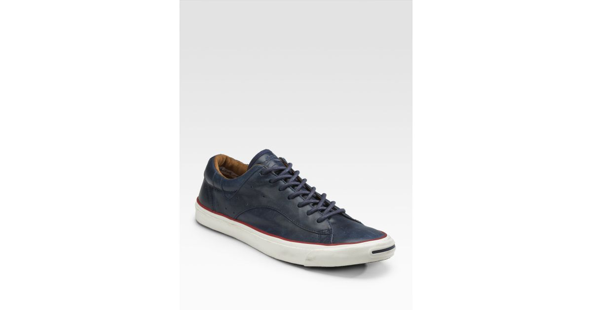finest selection 4a158 15f22 Converse Jack Purcell Racearound Lowtops in Blue for Men - Lyst