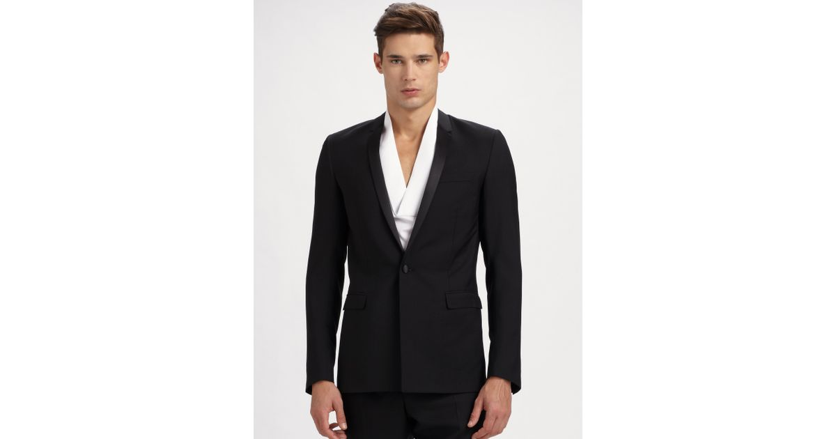 blazer noir homme