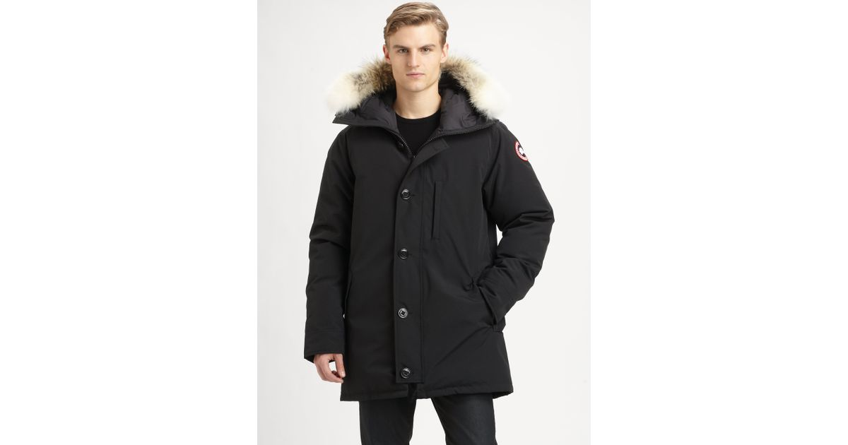 Canada Goose hats replica fake - Canada goose Chateau Parka in Black for Men | Lyst