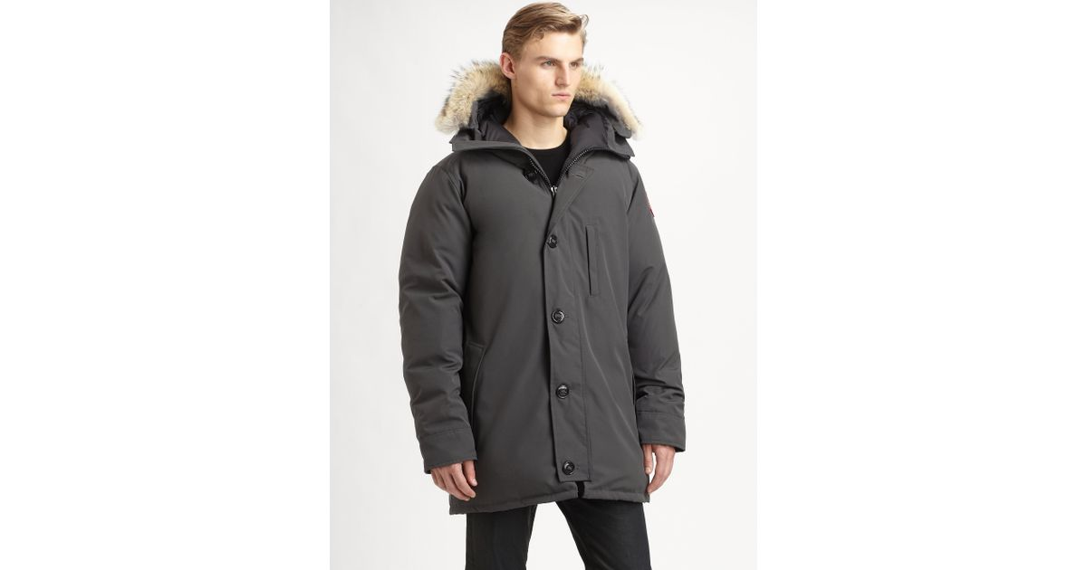 canada goose chateau graphite medium