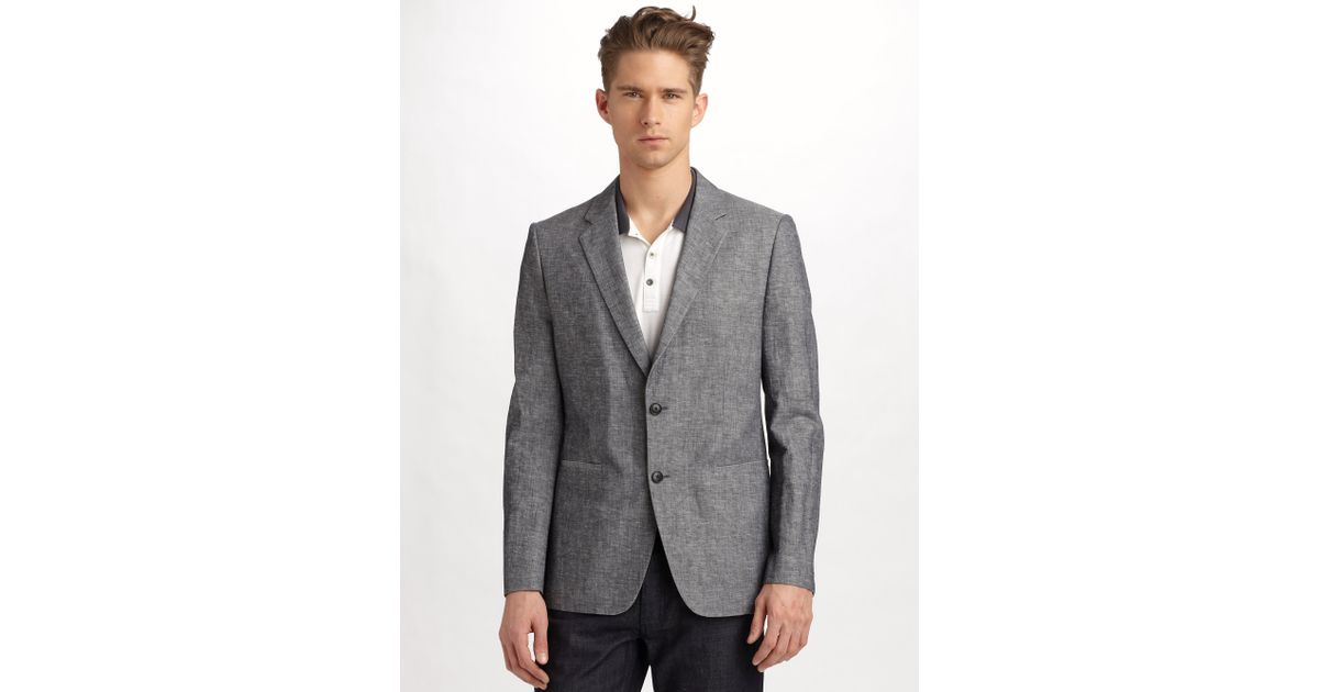 d20f694cea Theory Kris Hl Dedicated Heathered Sportcoat in Gray for Men - Lyst