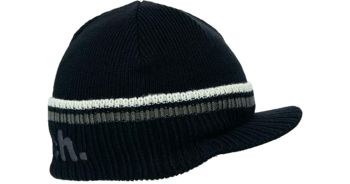 46d5595e02d051 Bench Peak Beanie in Black for Men - Lyst