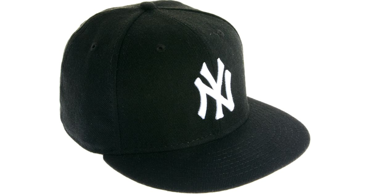 450cdd93a57 Lyst - ASOS New Era 59fifty Cap Ny in Black for Men