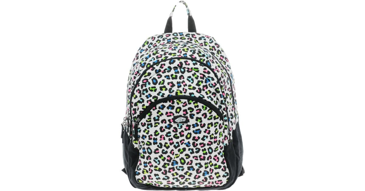 f13dd79e7d Lyst - Vans Curls Neon Leopard Backpack in Black for Men