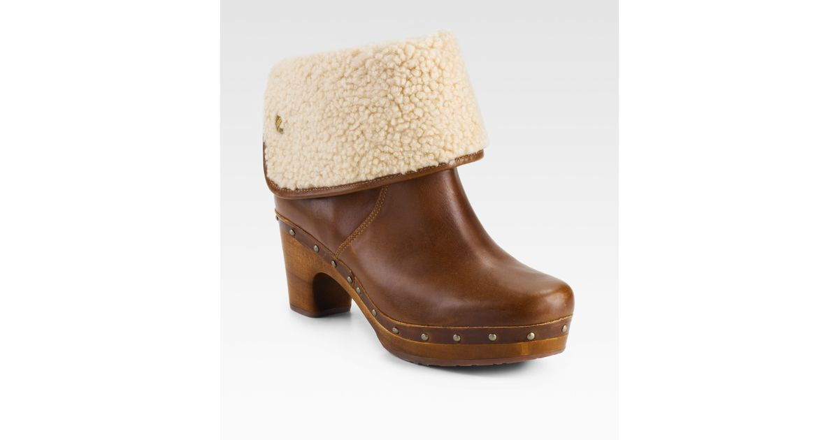 cheap for sale largest supplier cheap online UGG Australia Lynnea Shearling-Lined Ankle Boots excellent cheap online cheap limited edition shop sale online My42yat