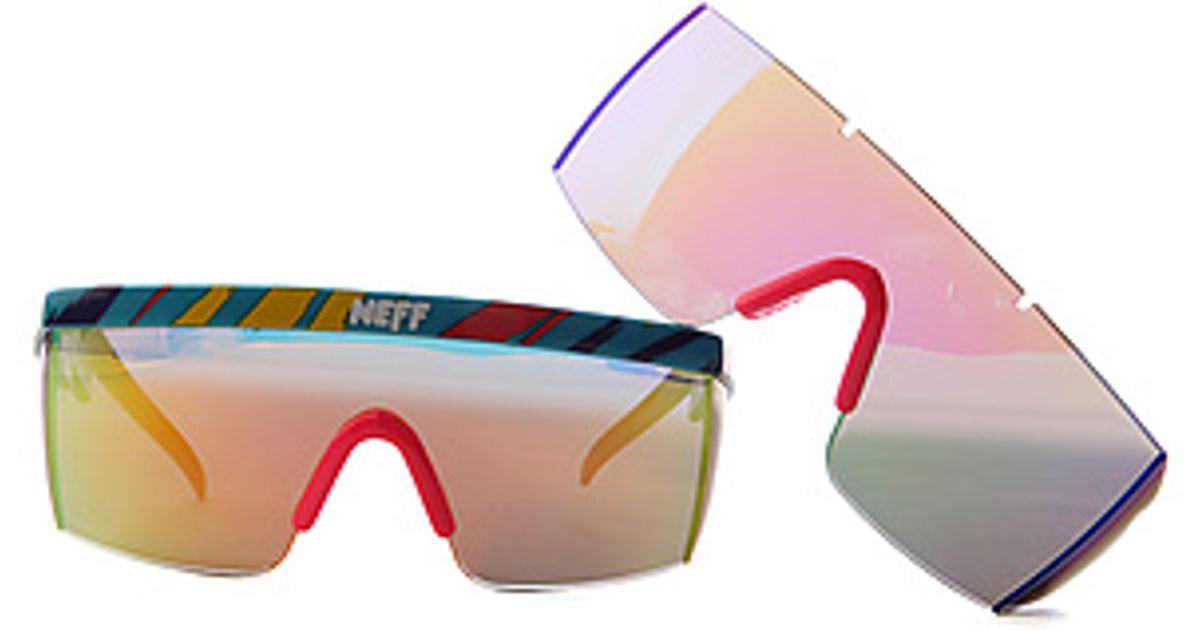 4b4f9e59f9e Lyst - Neff The Brodie Sunglasses in Blue for Men