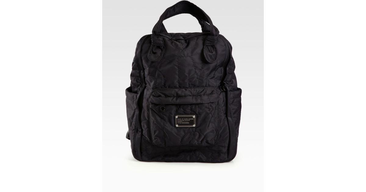 ce228a977177 Marc By Marc Jacobs Pretty Nylon Knapsack in Black - Lyst