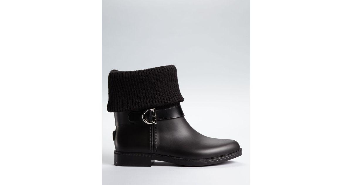 cheap sale 100% original cheap sale excellent Salvatore Ferragamo Thordis Rain Boots 3VHiD5iVvg