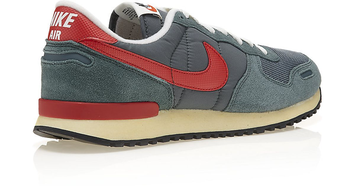 nike air vortex vintage  nike air vortex vintage trainer in gray for men  lyst d35a0abb5