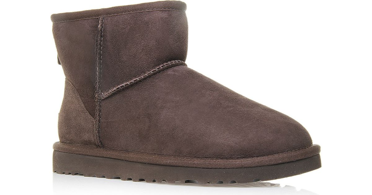 dark brown mini uggs