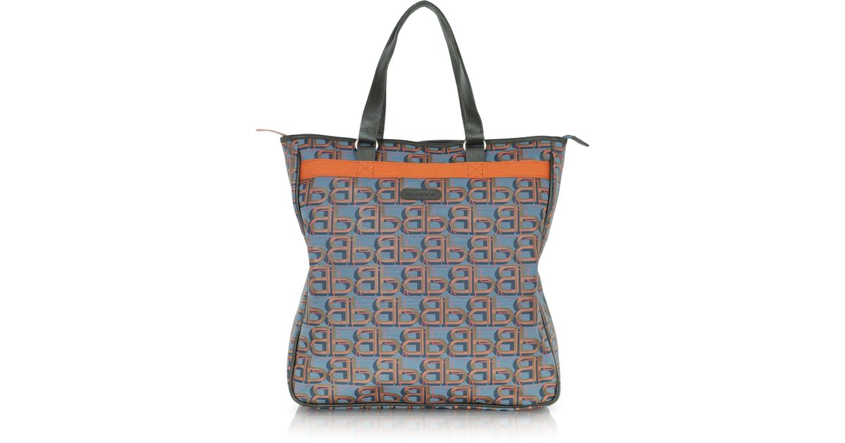 b42957e35bfd3a Bensimon Logovibes Line Canvas Tote in Gray - Lyst