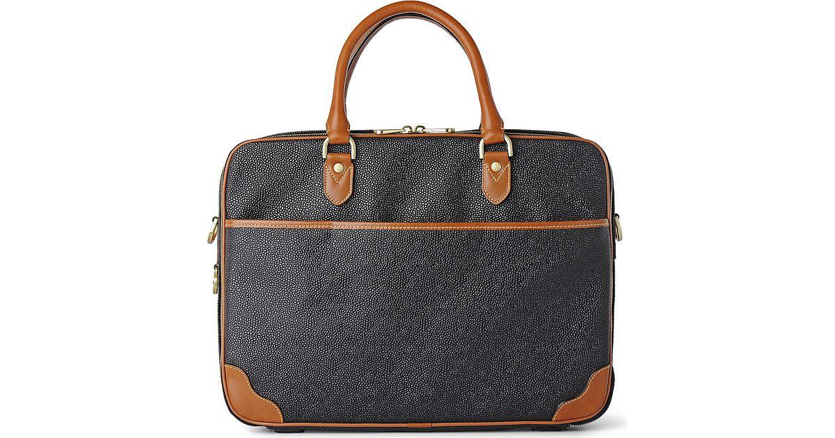 08da6757721 Mulberry Scotch grain Computer Case in Black for Men - Lyst