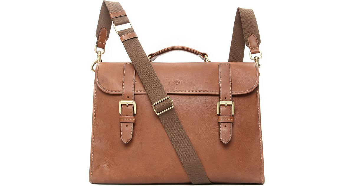 43cc473942d9 Mulberry Walter Briefcase in Natural for Men - Lyst