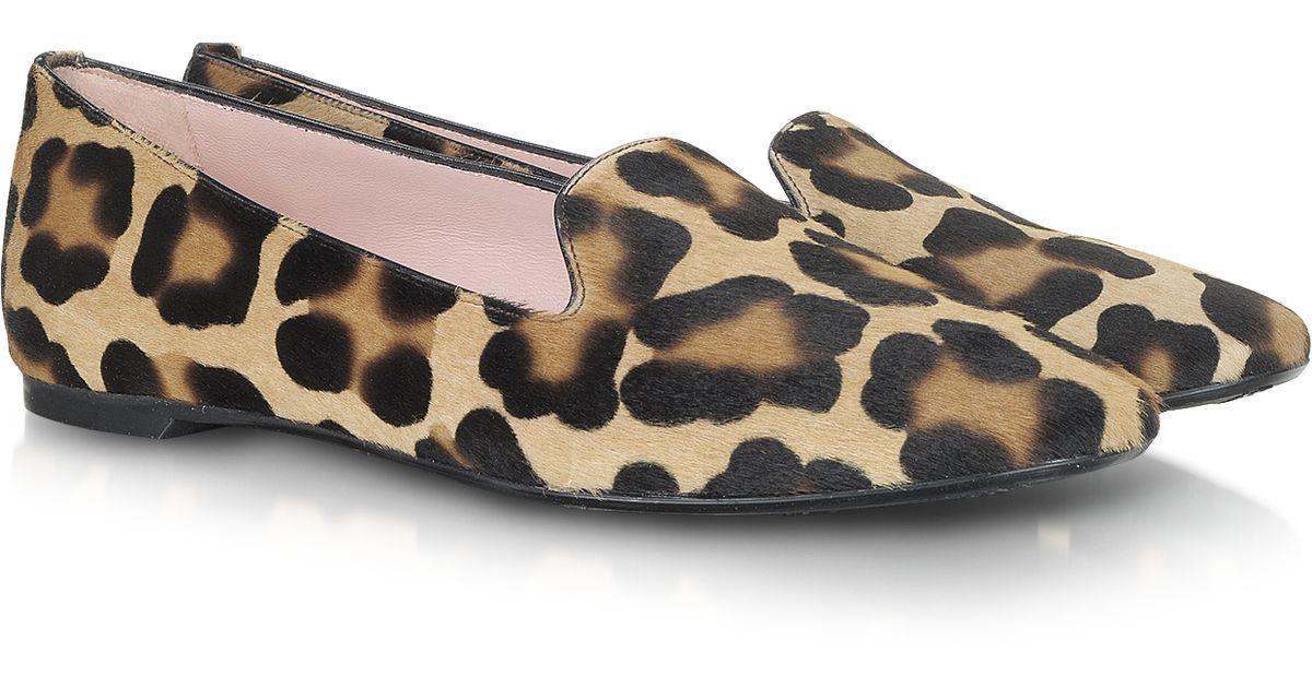 Pretty Ballerinas leopard print loafers - Brown Barato En Línea Footlocker Aclaramiento Venta Barata Auténtica Descuento De Taller Falsificación De Descuento GYEuQpBU