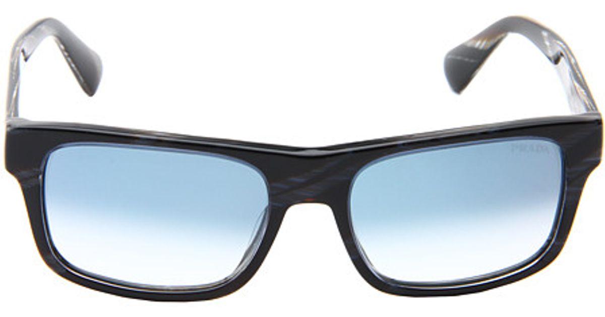45106d65b31 Lyst - Prada Pr 18ps in Black for Men