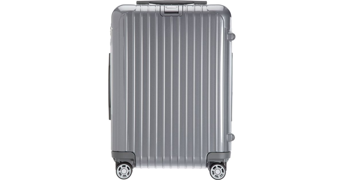 Lyst   Rimowa Salsa Deluxe Cabin Multiwheel Iata In Metallic For Men