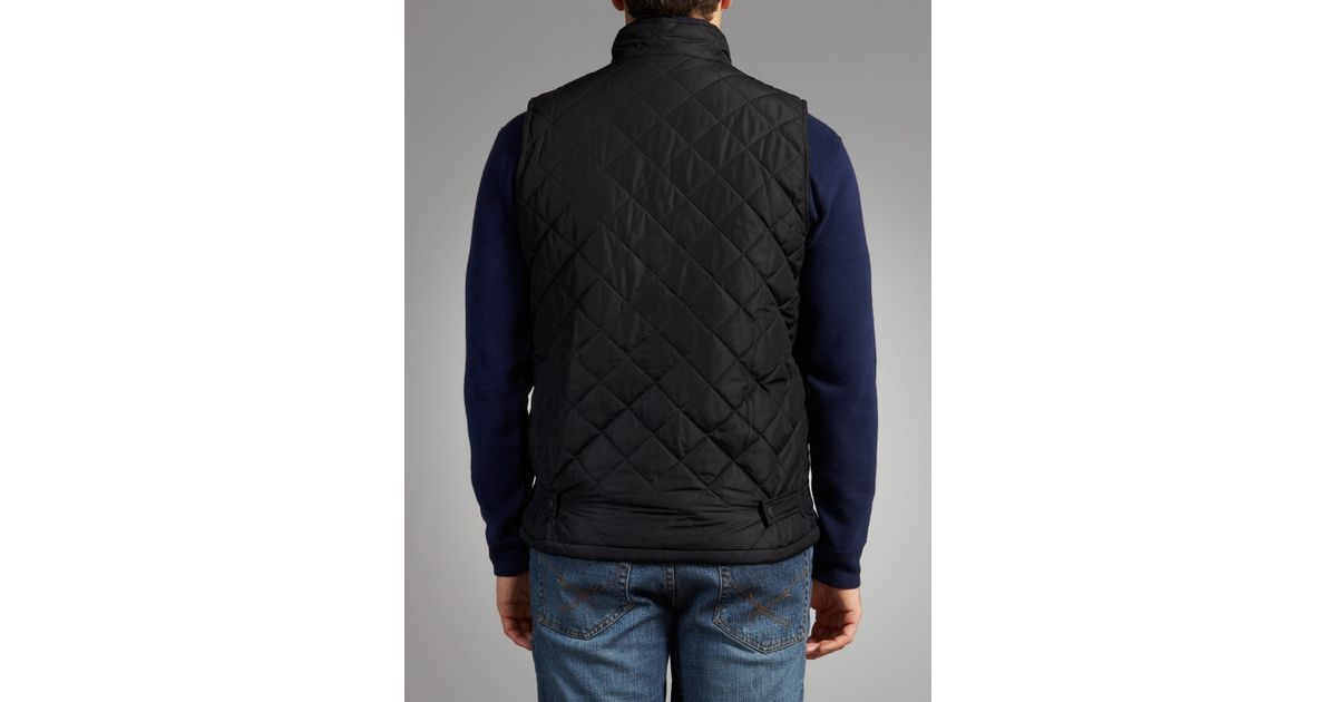 Barbour Bosun Quilt Gilet Black