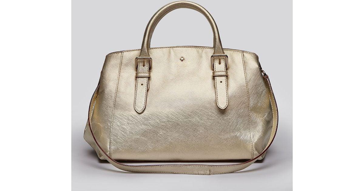 Lyst - Kate Spade Satchel Charlotte Street Small Sloan in Metallic e3ac622697020