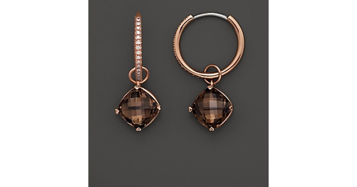 danielle jewelry earrings gold rutile img miller quartz earring
