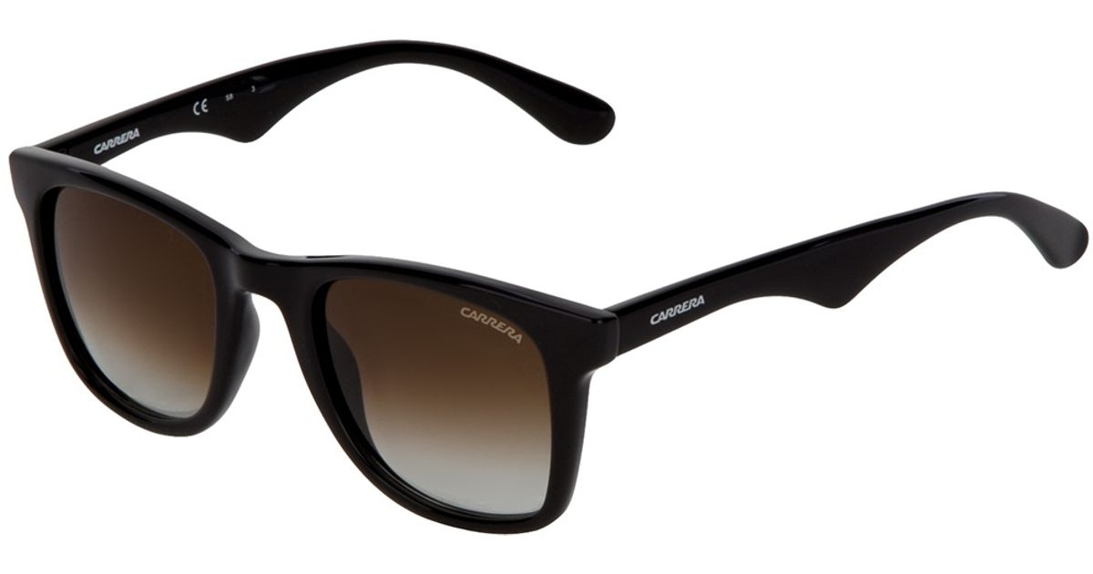 5b74a49a44 Carrera Wayfarer Sunglasses in Black - Lyst