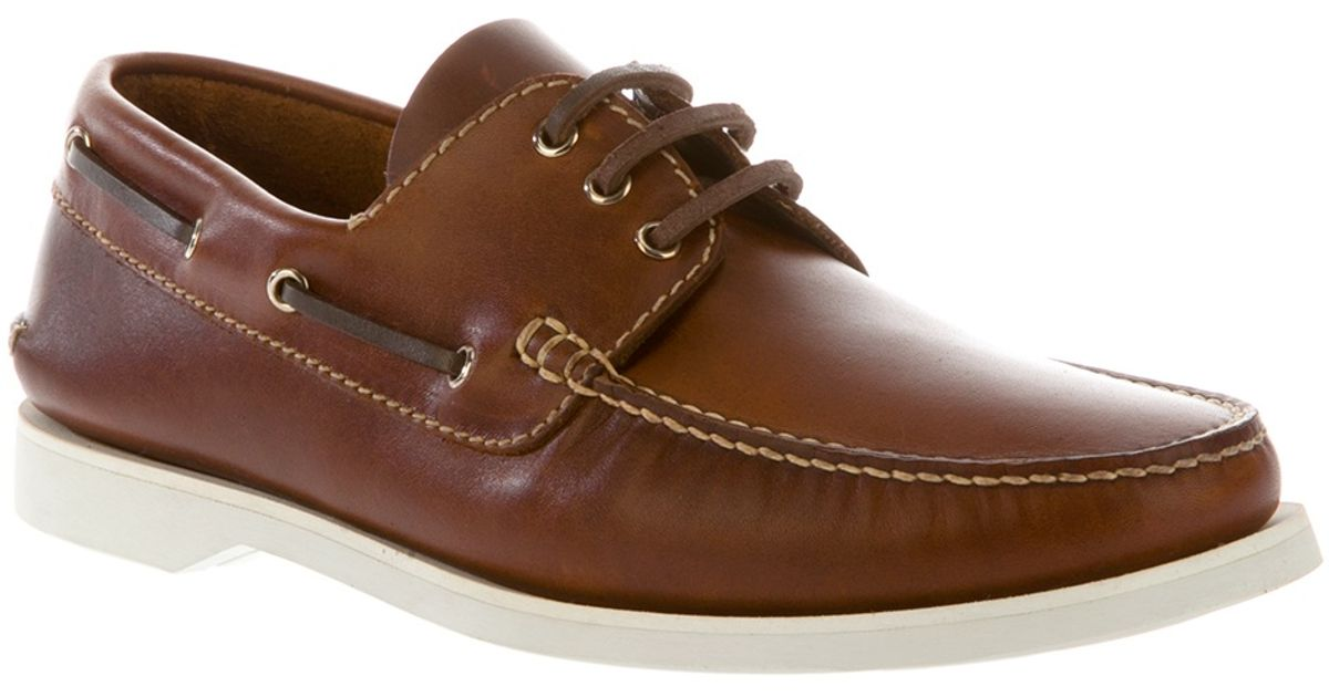 e376113b7a Lyst - Church s Boat Shoes in Brown for Men