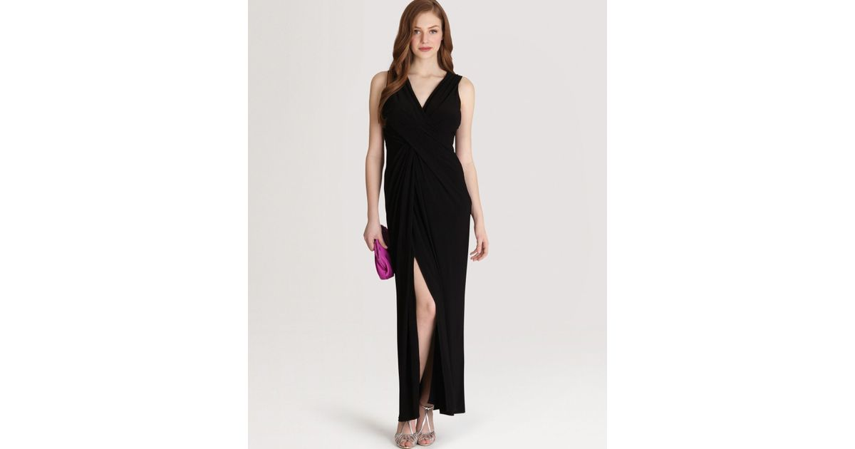 Lyst Coast Dress Mona Jersey In Black