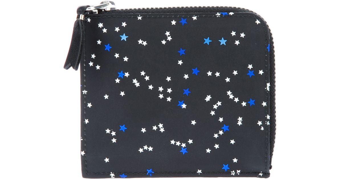 270bb20c7d4f7 Lyst - Comme des Garçons Bright Star Wallet in Blue