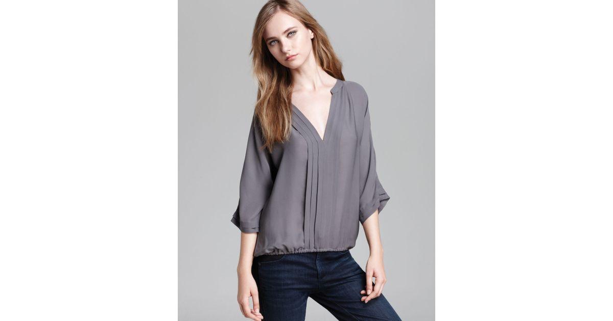66eaabccf1de83 Lyst - Joie Top Marru Silk in Gray