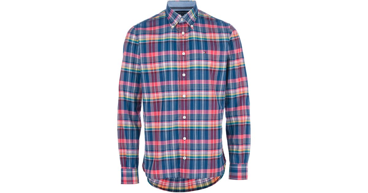84f19a8fecfe Tommy Hilfiger Hector Check Shirt for Men - Lyst