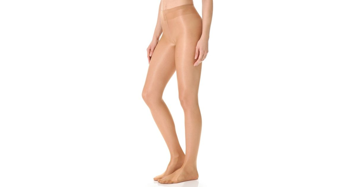 36d83fba2b9 Falke Pure Shine 15 Tights in Natural - Lyst