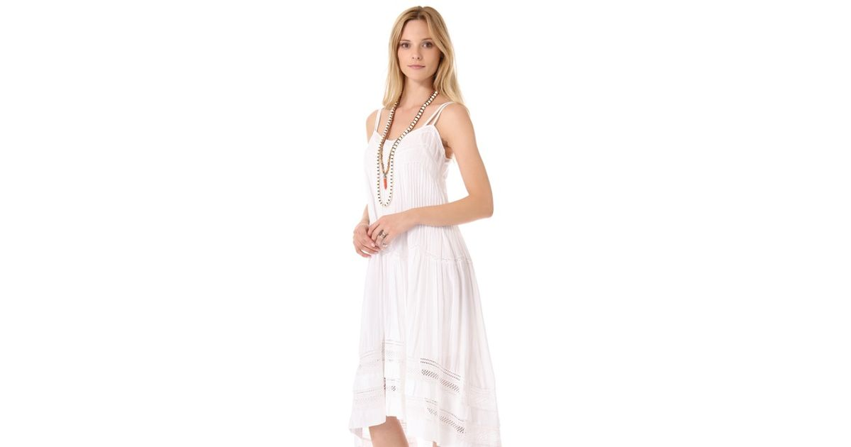 Twelfth Street Cynthia Vincent White Western Lace Dress