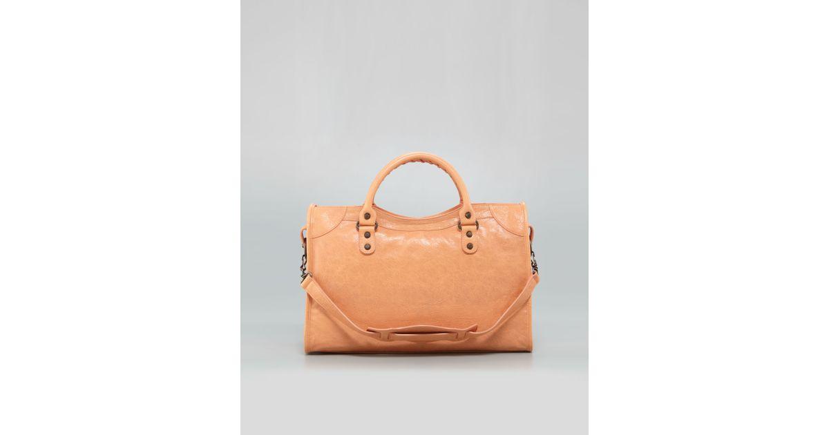 06ea111b739 Balenciaga Classic City Bag Rose Blush in Pink - Lyst