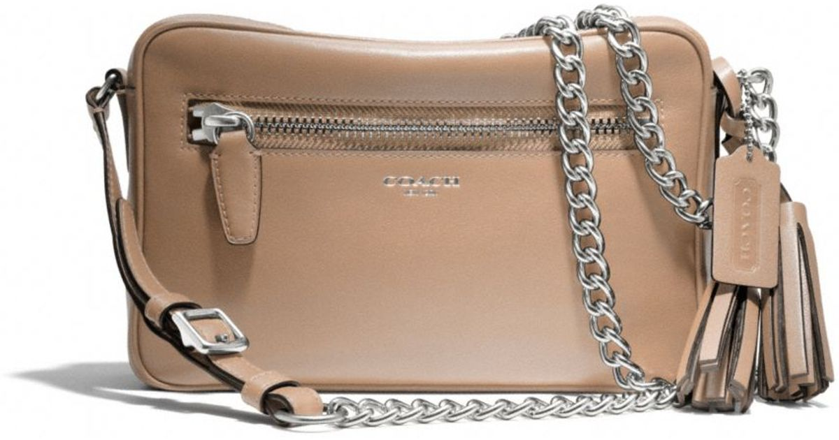 d5b0a1f0fe Lyst - COACH Legacy Flight Bag in Leather in Brown