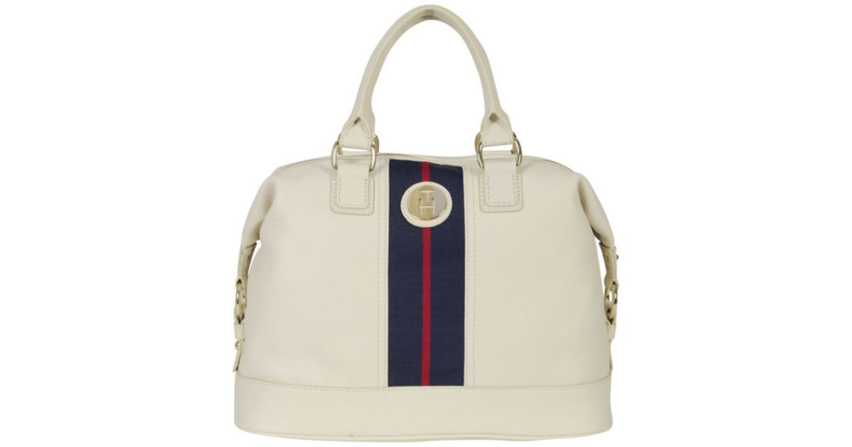 Tommy Hilfiger Womens Lizzie Duffle Bag in White for Men - Lyst cf0aaba08bb