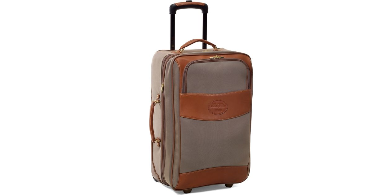 Lyst Brooks Brothers Hartmann Expandable Mobile Traveler In Brown For Men