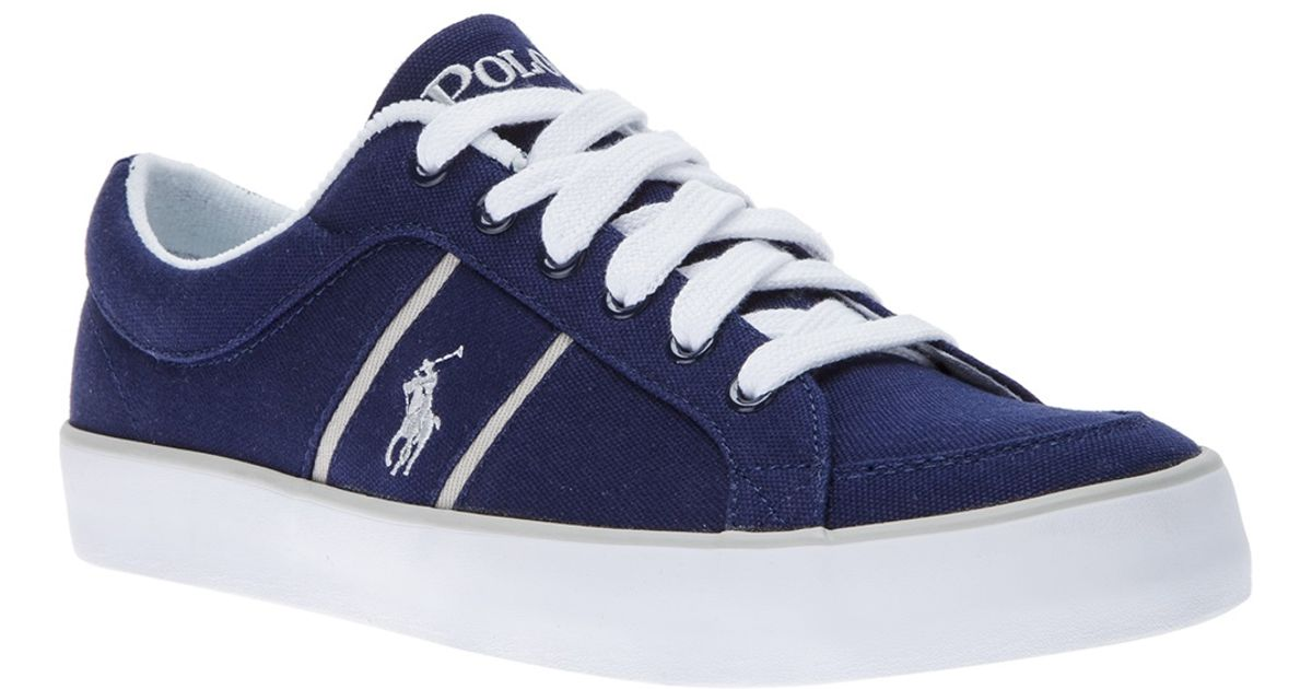 Lyst - Polo Ralph Lauren Bolingbrook Sneaker in Blue for Men 40182d3da3