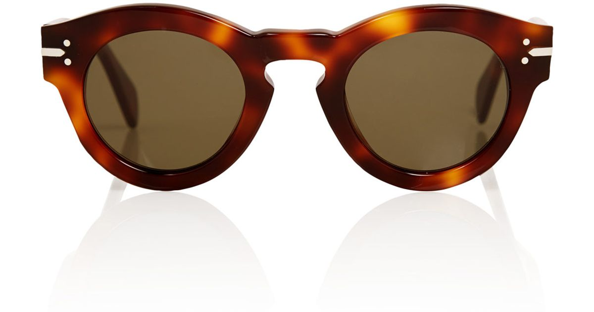 c8b51db09dae Lyst - Céline Brown New Butterfly Sunglasses in Brown