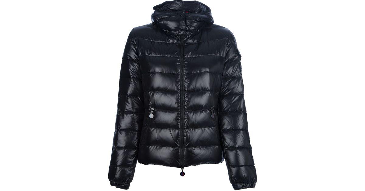 Moncler Maya Shiny Puffer Jacket In Black For Men Lyst