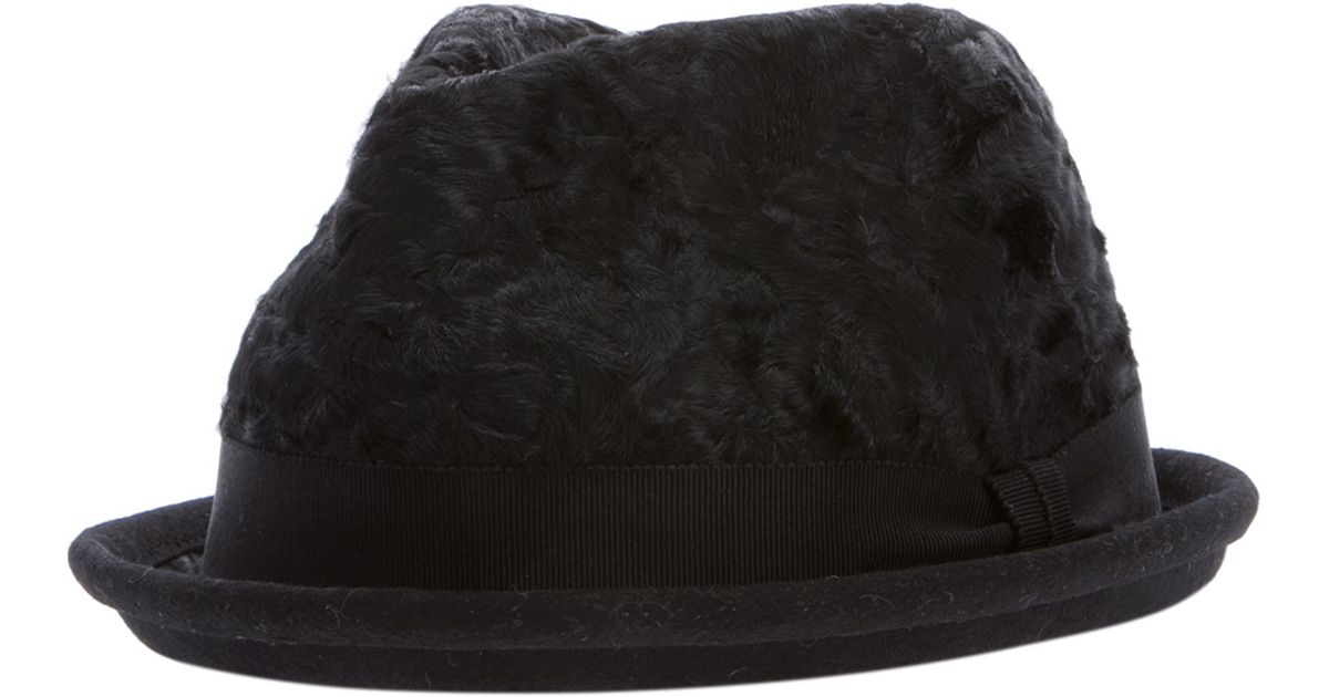 Lyst - DSquared² Karakul Hat in Black for Men 9ce3752046e