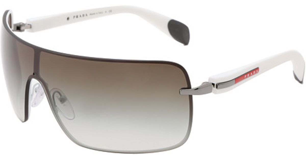 f6dae40d01e Lyst - Prada 0ps 55os in White for Men