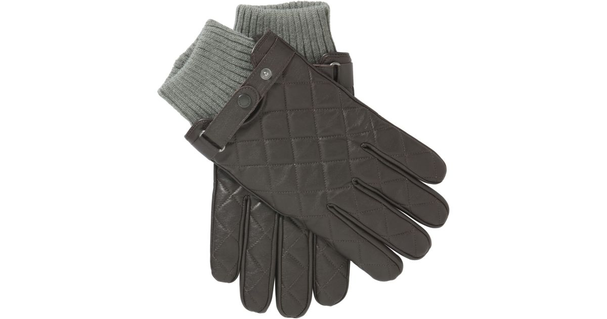 Quilted Leather Gloves : barbour quilted gloves - Adamdwight.com