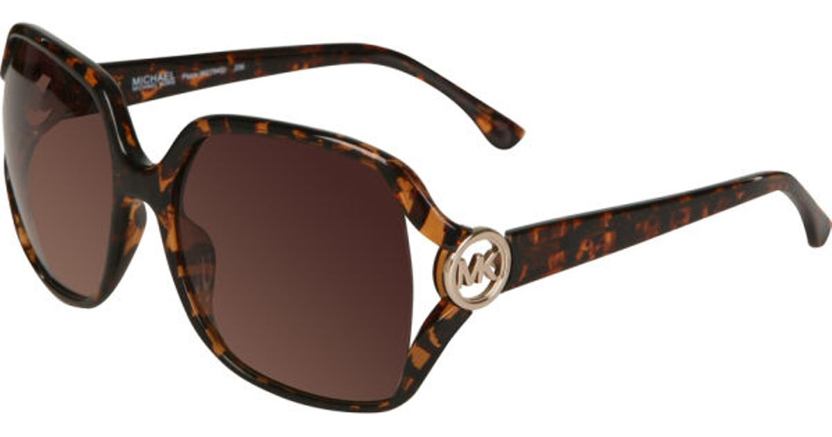 Michael Kors Montrose Sunglasses  michael kors pippa oversized round sunglasses in brown lyst