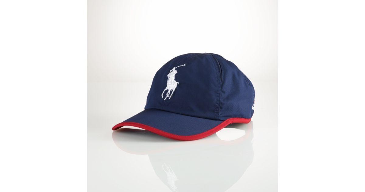 Lyst - Polo Ralph Lauren Us Open Cross Court Hat in Blue for Men e8188c5c686