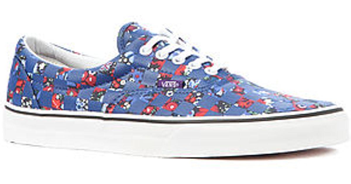 d1d9fce3e0 Lyst - Vans X Liberty Of London Era Sneaker in Blue for Men
